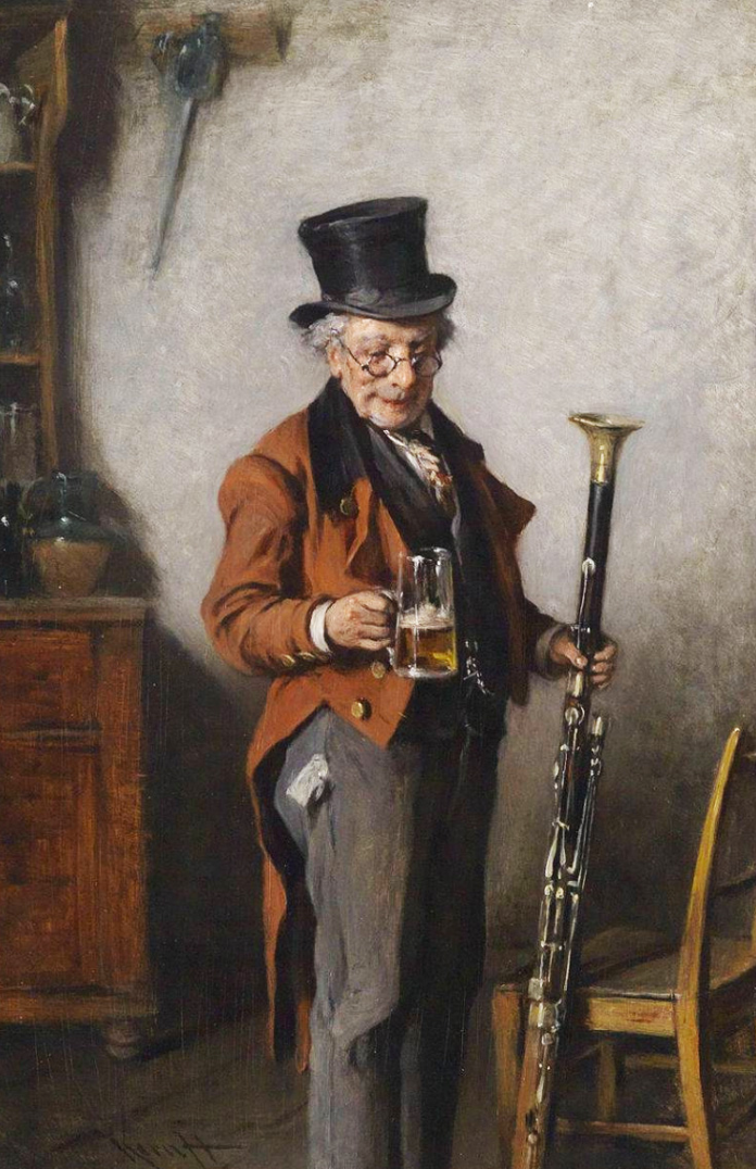 Viennese bassoon with beer