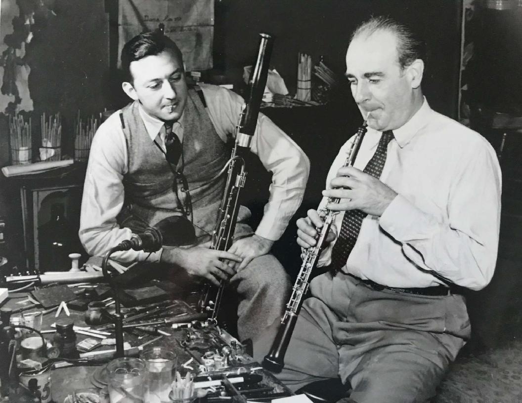 Sol Schoenbach with Marcel Tabuteau