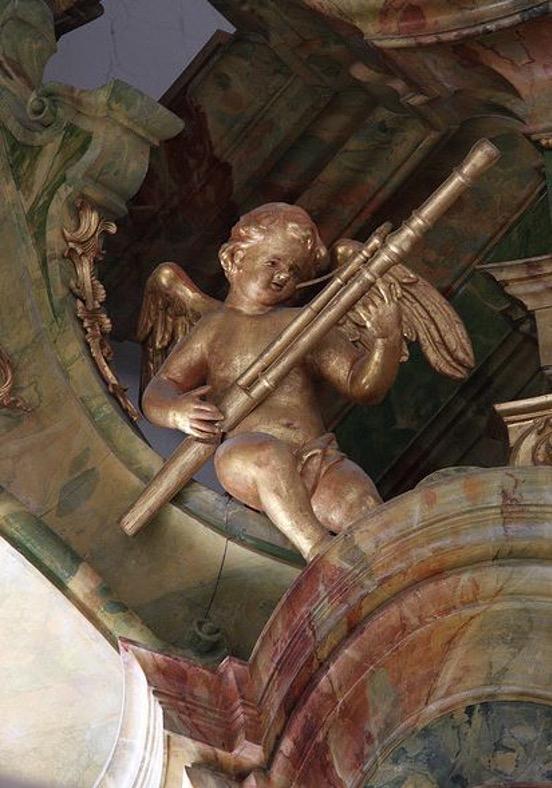 organ loft bassoon angel