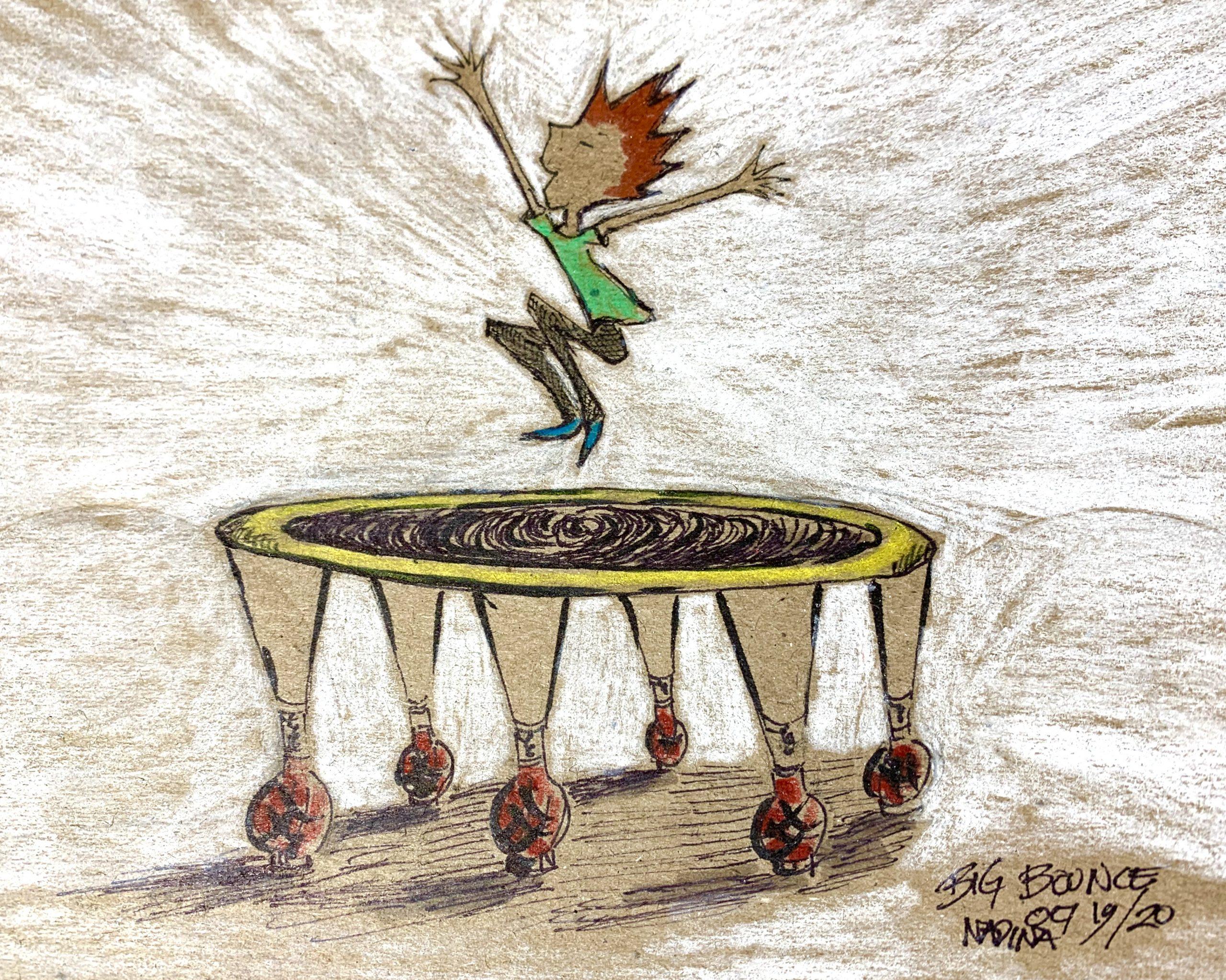 Reed membrane, reed trampoline, bassoon reed