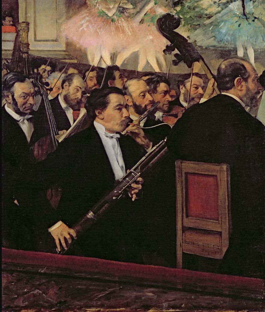 Degas Bassoonist