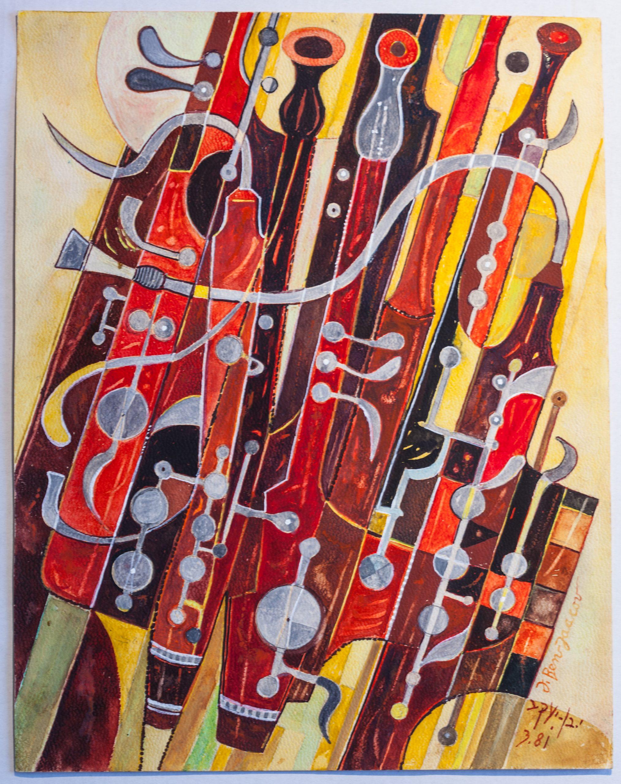 Ben Jacob modern art bassoons